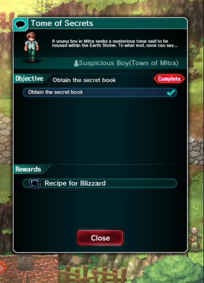 FFBE Quest 1 Mitra v1