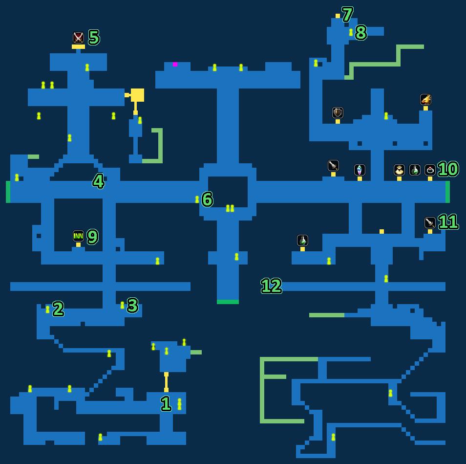 FFBE Royal Capital Grandshelt Quest Map