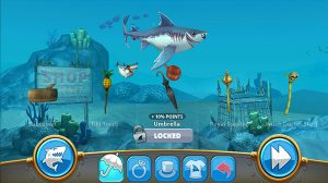 Hungry Shark World accesories