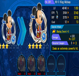Kingdom hearts Unlimted X medal evoling