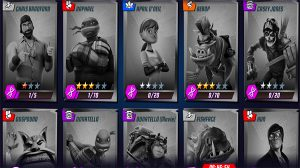 Teenage Mutant Ninja Turtles Legends Guide character unlocks