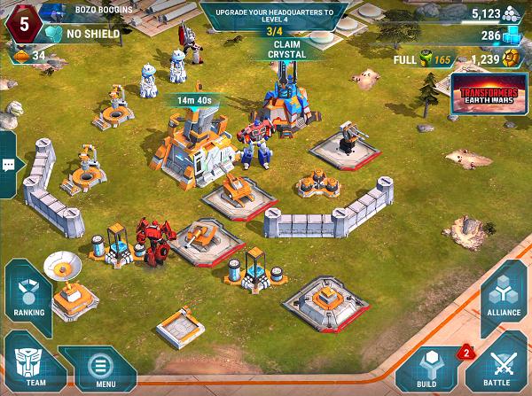 Transformers Earth Wars Base