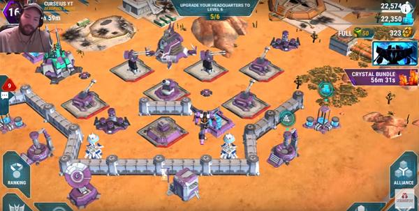 Transformers Earth Wars Defense