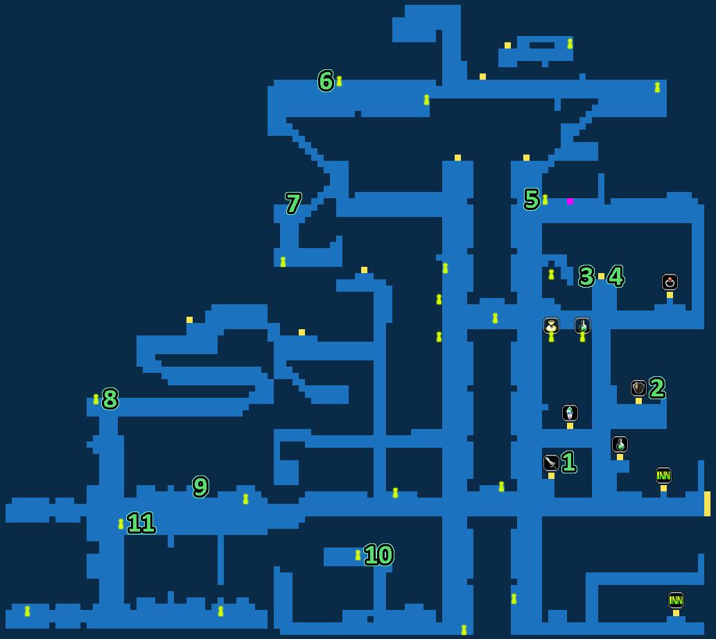 FFBE Grandport Quest Map