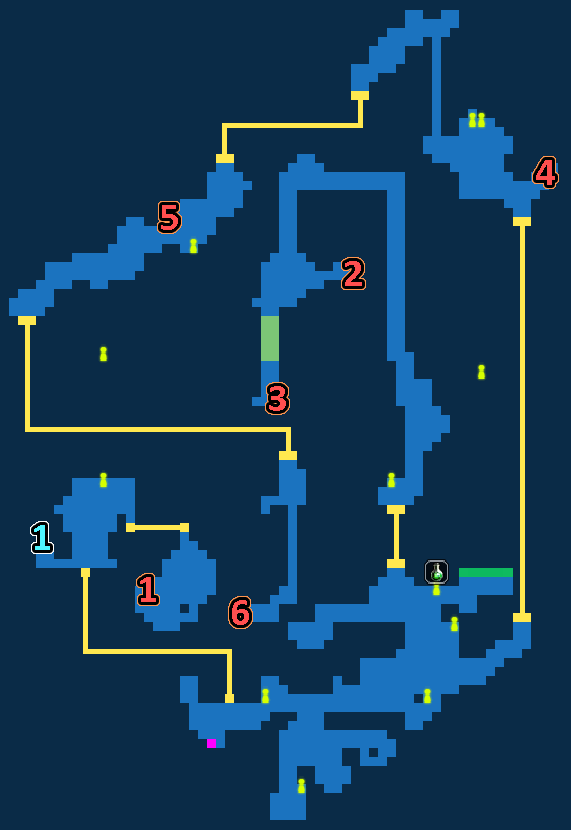 Ordol Port Treasure Map