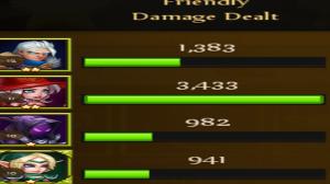 Soul Hunters damage dealt