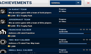 nba live mobile achievements