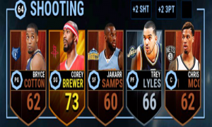 nba live mobile team