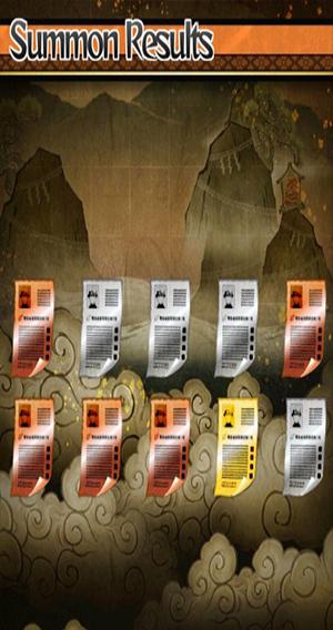 naruto Shippuden summon scrolls