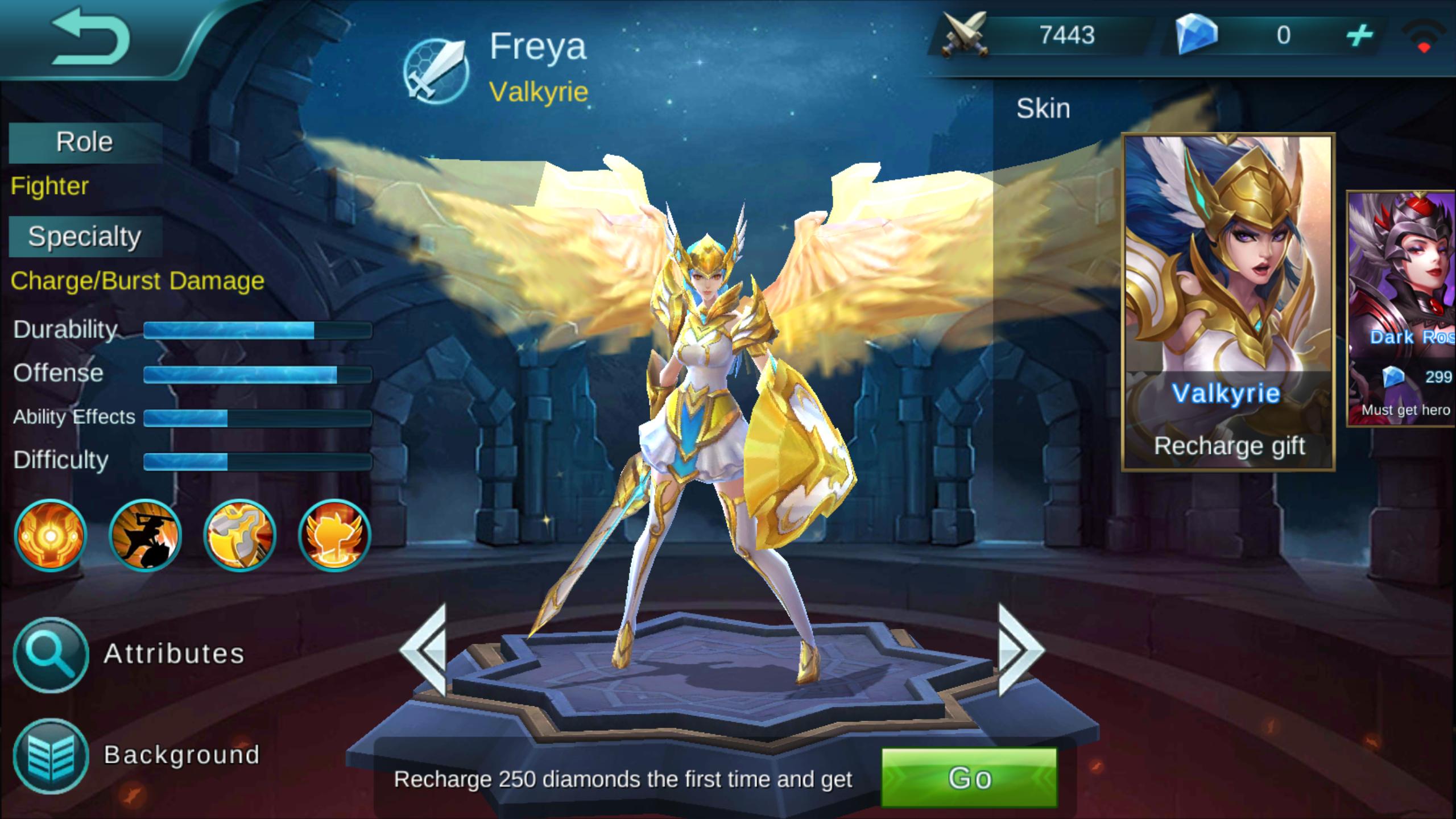 Freya Valkyrie Review [Mobile Legends Bang Bang] Line