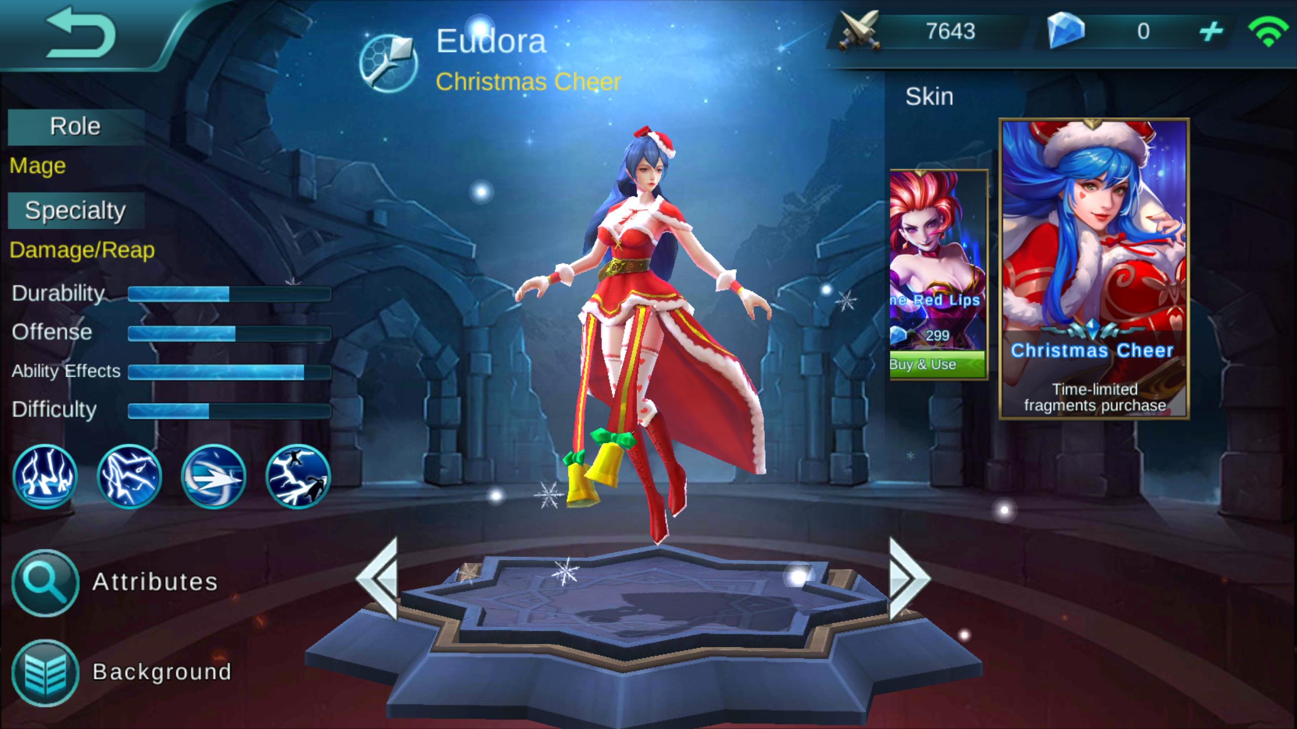 Eudora Lightning Sorceress Review [Mobile Legends Bang Bang