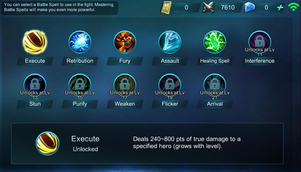 Mobile Legends Bang Bang Battle Spells Guide Online Fanatic