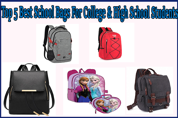 Top 5 Best School Bags For College