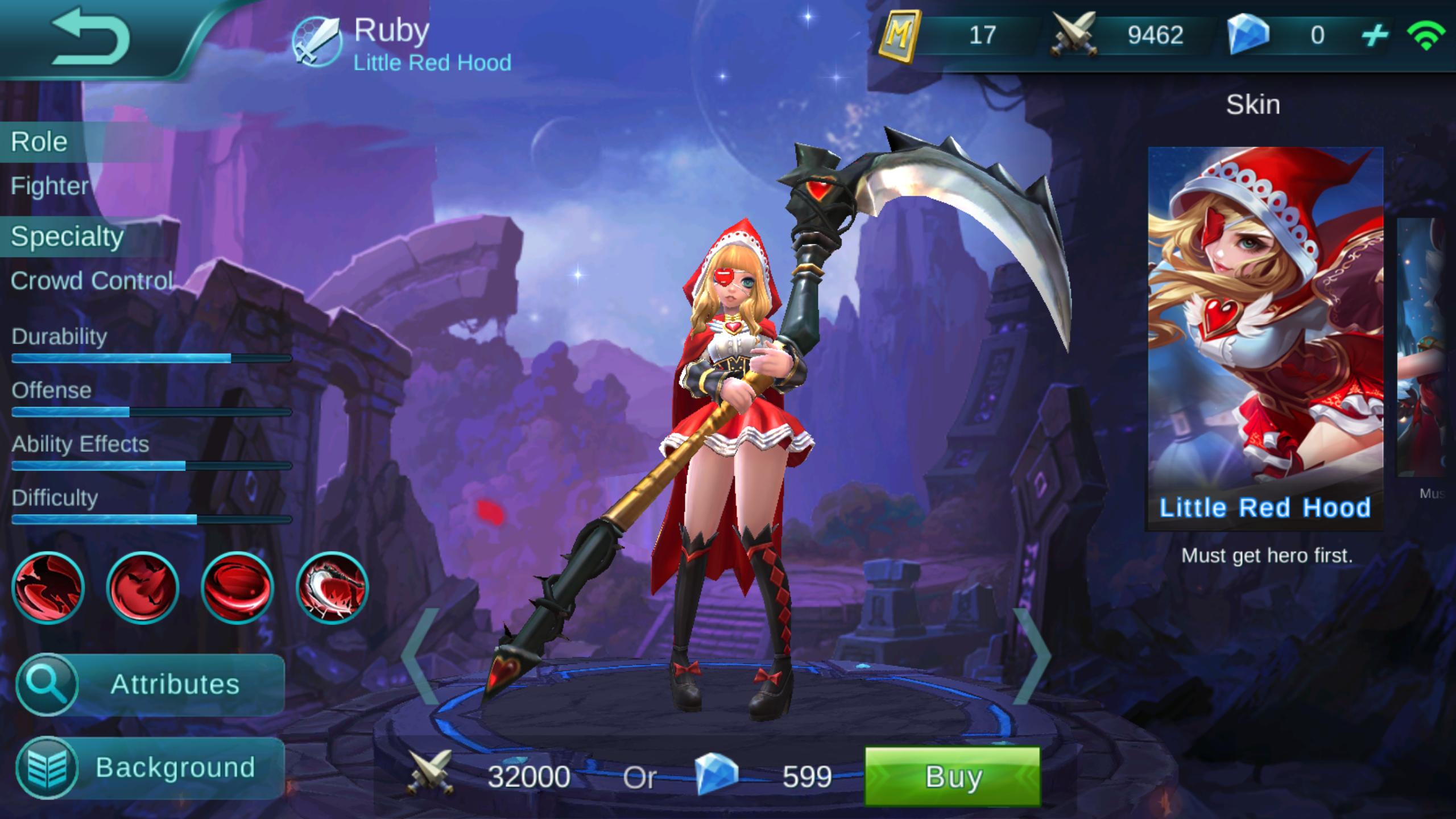 Little Red Hood Review Mobile Legends Bang Bang Online Fanatic
