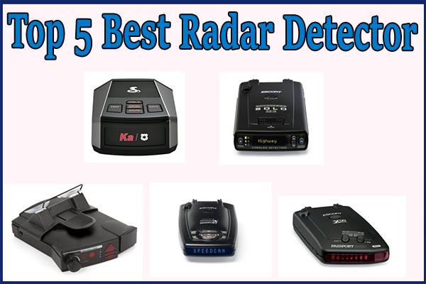Top 5] Best Radar Detector - Online Fanatic