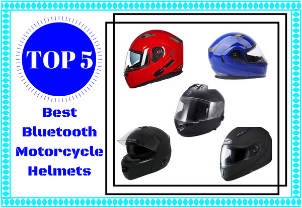 [Top 5] Best Bluetooth Motorcycle Helmets