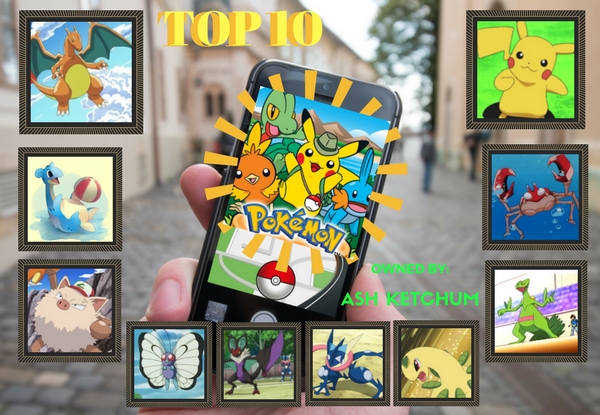 [Top 10] Pokémon to Ever Be Owned by Ash Ketchum