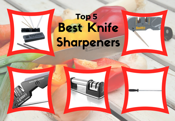Top 5 Best Knife Sharpeners Review[How To Choose One]