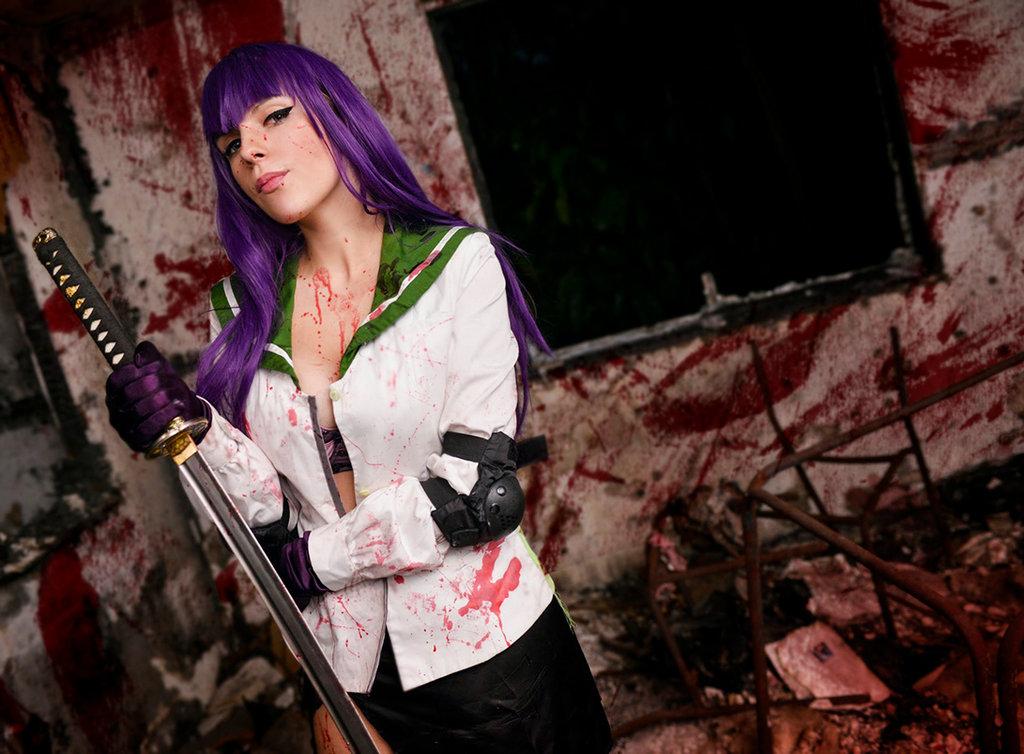hotd saeko cosplay