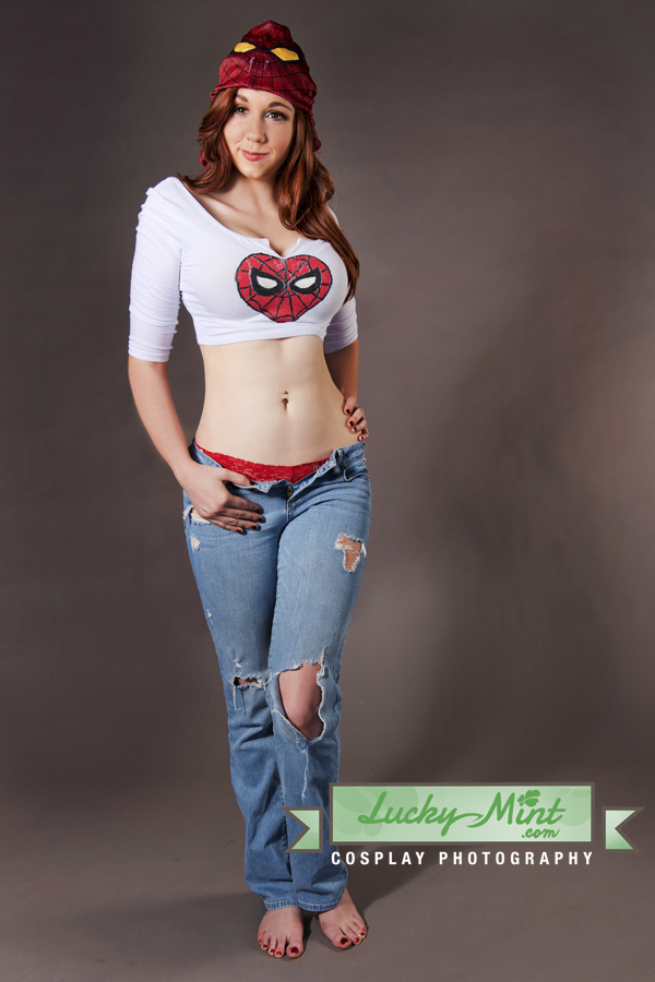 Cool girl cosplay mary jane