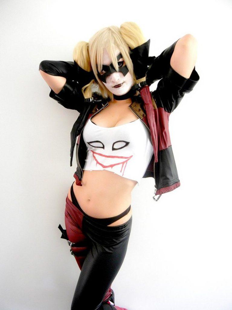 Harley quinn cosplay top